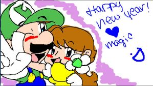 New Year doodle :D by IgotTheMagicHands