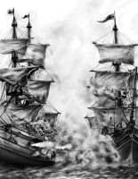 Cannon Fire by Asynja
