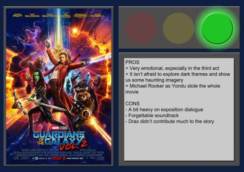 Guardians of The Galaxy Vol.2 - Movie Review by BlueprintPredator