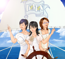 captain of love boat by Rijio