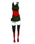 Saya outfit contest entry by CookieZoela