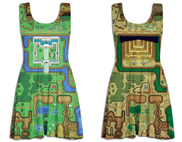 LOZ ALTTP Skater Dress by Enlightenup23