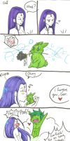 How Beast Boy Gets out of Trouble pg. 2 by MESS-Anime-Artist