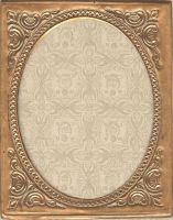 antique metal frame_stock by Techture