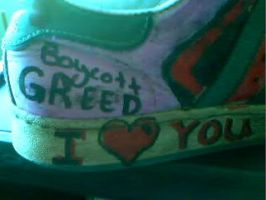 boycott greed by earthly-delight