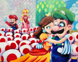 Good Job Luigi! by AriaBlarg