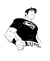 Superboy Inks by RAHeight2002-2012