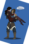 Korra, Strong! by sanitynevermore