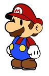 Paper Mario by Sparky-BlueDegu