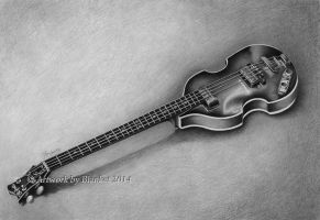 Beatle Bass GUITAR by blanket86