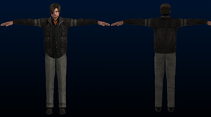 Leon RE6 mesh_mod by XXMAUROXX