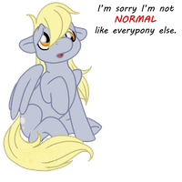 MLP - Derpy is sorry... by Masqueadrift