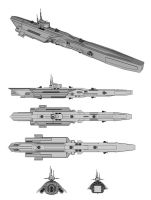 CHAMPION-Class Frigate WIP by TheOrangeGuy