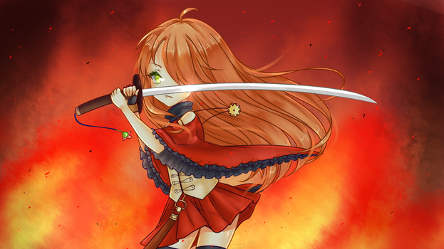 Embers War [SPEEDPAINT AVAILABLE] by Lunacy-Hime