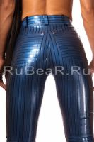 Latex tweed jeans by latex-rat