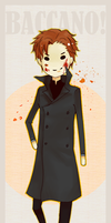 Baccano - Vino bookmark by niceweatherr