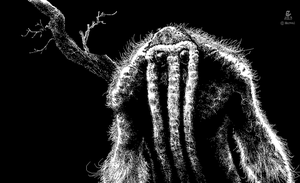 Man-Thing uDraw Experiment by Megadas