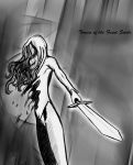 Teresa of the Faint Smile (Claymore) by ClareSnape