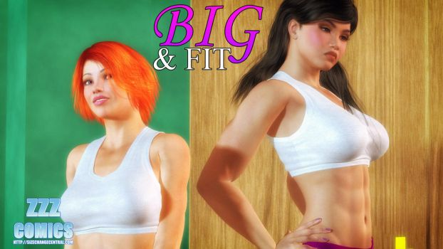 Big and Fit Now Available! by zzzcomics