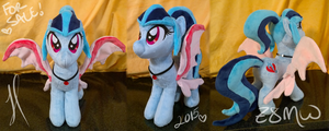 Sonata Dusk Plush SOLD by Zombies8MyWaffle