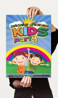 Kids Party Flyer by CaCaDoo