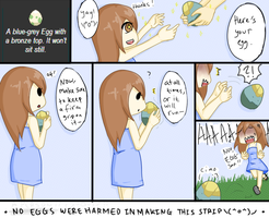 Egg Traits (1?) by LiArtificiaLynsey