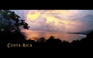 Costa Rica Sunset by ForgottenMoonchild