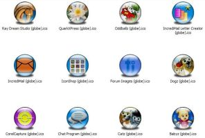 Misc Apps 4 Icons -Globe- by jamest