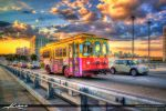 HDR-Photography-Trolly-Fort-Lauderdale-Bus-Rid by CaptainKimo