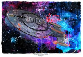 USS Voyager (NCC-74656) (Star Trek Collection) by j2Artist