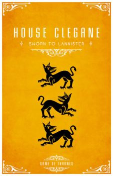 House Clegane by LiquidSoulDesign