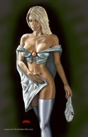 Emma Frost/White Queen by Dan-DeMille
