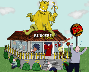 Burger King in Yellow