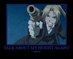 Talk About My Height Again! by deathgirl88