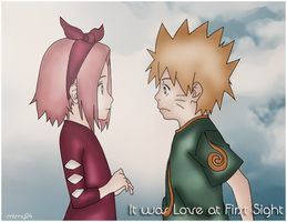 NaruSaku Love at first Sight by mlmy24