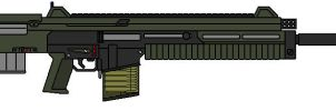Assault Rifle 666a2 by Seth45