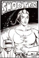 Shooter from Pandeia web comic by PeterPalmiotti