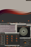 January, Ubuntu 10.10 by Rasa13
