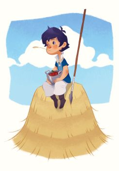 Fire Emblem: Awakening - Donnel by paper-hero