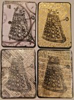 Dalek ATCs by KatarinaNavane