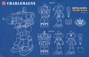 Charlemagne Mech Schematics by Rob-Cavanna
