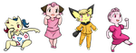 Baby pokemon by Weepinbelly