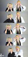 Hiyori and Shinji ~ Bleach by greengreencat