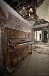 The Lost Piano by ZerberuZ