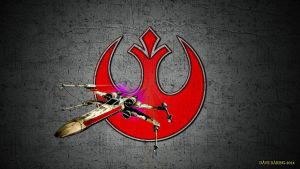 The Rebel Alliance X-Wing by Dave-Daring