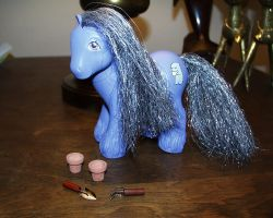 Custom Yuki My Little Pony by Mizaya