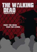 The Walking Dead Minimalist Poster by Condem79