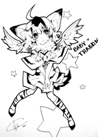 Baby Tragon PERSONIFIED by cika