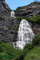 Bridal Veil Falls - Provo UT by silver-wolf581