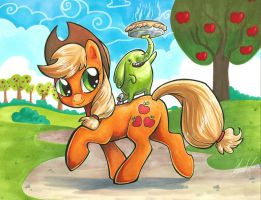 Apple Trunks by lizspit